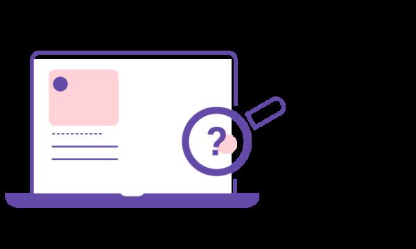 FAQ som hjälper besökaren på webbplatsen